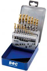 Bohrcraft Spiral Drill Bit HSS-G DIN 340/Split Point Type N Profi Plus 3.9/mm in Quadro Pack 1/Pack of 13530300390