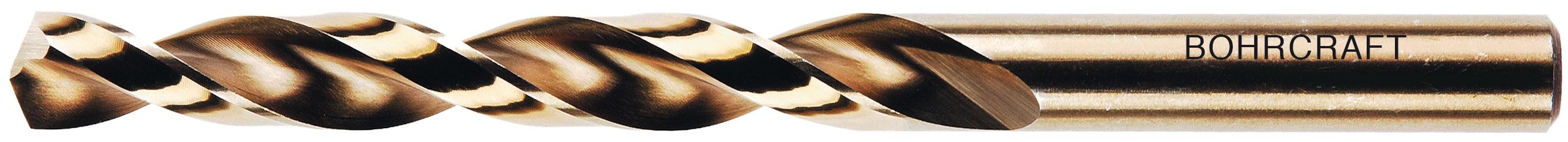 Bohrcraft Spiral Drill Bit DIN 338/HSS-G Ground Split Point Type N 11200100290 9.5/mm BC Quadro Pack of 10