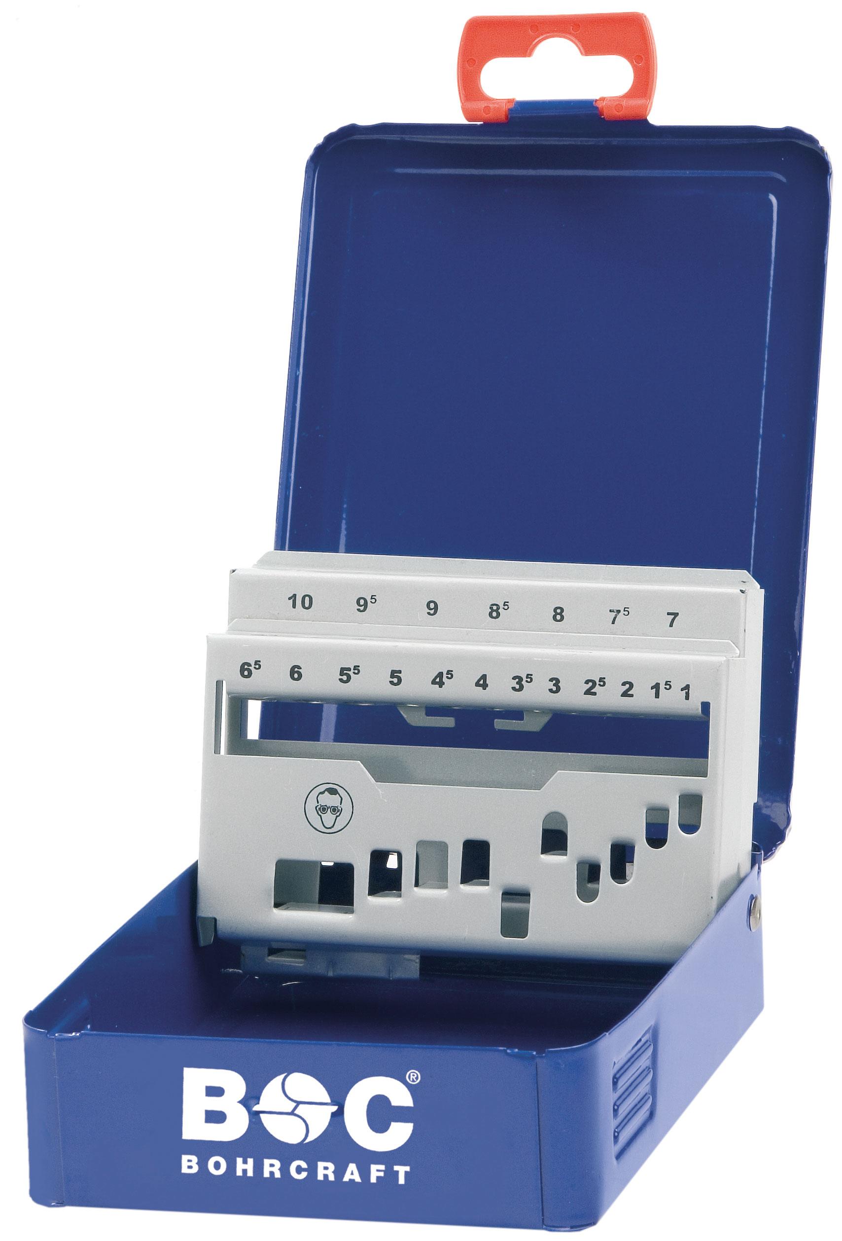 66241500575 Pack of 1 Bohrcraft Bits 10/mm Hexagonal Shank M 5/x 75/mm Ribe Hole//Box